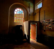 Shadows And Light - State Mine Heritage Park , LIthgow - The HDR Experience by Philip Johnson
