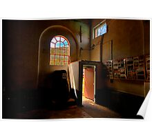 Shadows And Light - State Mine Heritage Park , LIthgow - The HDR Experience Poster