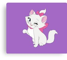 Marie Winking, The Aristocats Canvas Print