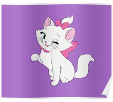 Marie Winking, The Aristocats Poster
