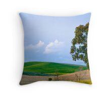 Andalucian countryside Throw Pillow