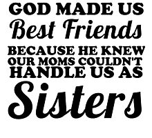 best friends sisters Photographic Print