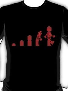 Evolution of Lego Man T-Shirt