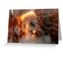 Heavenly alley Greeting Card