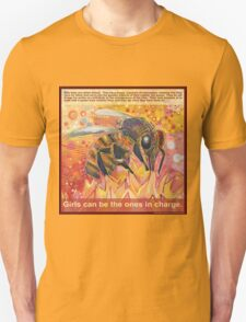 The real Amazons (Western honey bee) T-Shirt