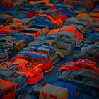 Flouro cars by Tim O'Neil