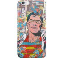 Vintage Comic Superman iPhone Case/Skin
