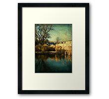 Lower Water Pond Framed Print