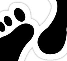 Foot Print Sticker
