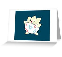Togepi - Coloured Greeting Card