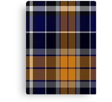 00346 Monaghan County, Crest Range District Tartan Canvas Print