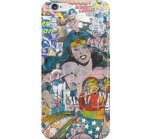 Vintage Comic Wonder Woman iPhone Case/Skin