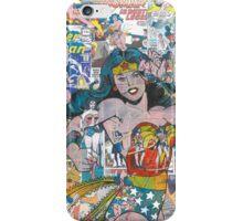 Vintage Comic Wonder Woman iPhone Case/Skin