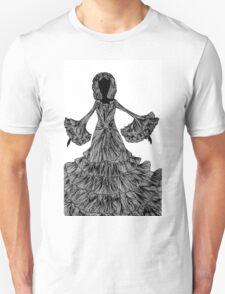 Abstract girl Unisex T-Shirt