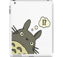 Totoro ask iPad Case/Skin
