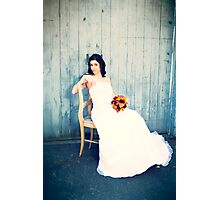 The Blue Bride Photographic Print