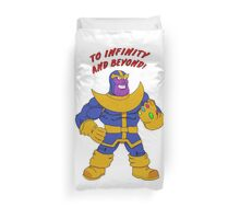 to infinity and beyond Duvet Cover