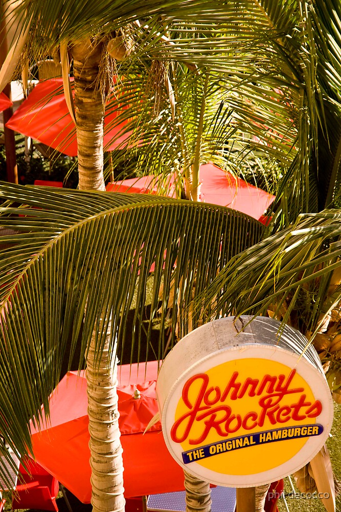 Johnny Rocket's by phil decocco
