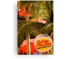 Johnny Rocket's Canvas Print