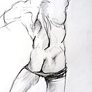 Mannequin back study by Arzeian