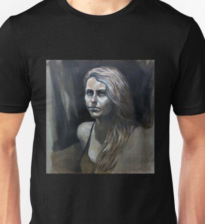 Portrait in Monochrome Unisex T-Shirt