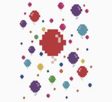 Pixel Balloons Kids Clothes