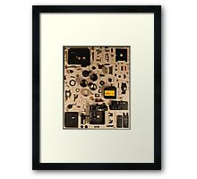 Canon Video Camera Framed Print