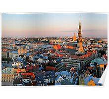 Views of Old Riga 2 Poster