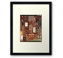Mac Book Pro 15 inches Framed Print
