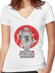 Baytron Women's Fitted V-Neck T-Shirt