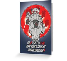 Baytron Greeting Card