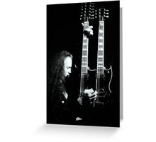 Tribute to Jimmy Page Greeting Card