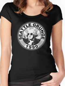Seattle Grunge Women's Fitted Scoop T-Shirt