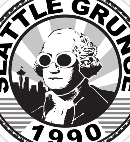 Seattle Grunge Sticker