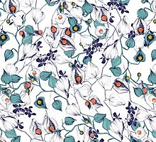 Physalis pattern by lascarlatte