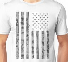 American Flag Money Unisex T-Shirt
