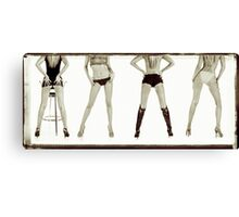 Legs & Co Canvas Print