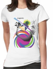 magestic Womens Fitted T-Shirt