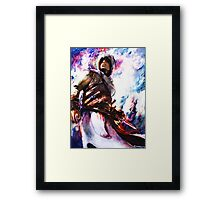 assassins creed Altair Framed Print