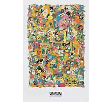 Cartoon Network Collage Photographic Print
