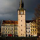 Stormy Skies Over Prague by dozzie