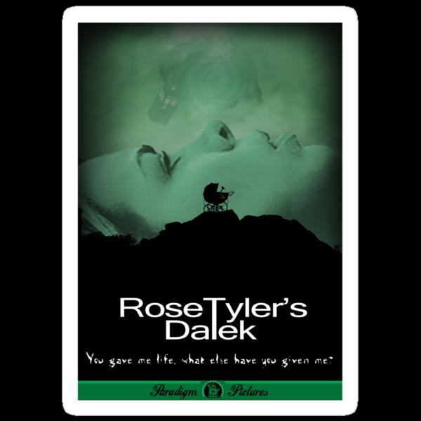 Rose Tyler's Dalek by ToneCartoons