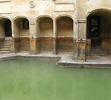 ROMAN BATHS by kazaroodie
