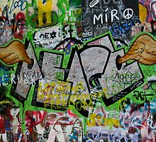 John Lennon Wall - Prague by dozzie