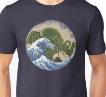 Hokusai Cthulhu Unisex T-Shirt