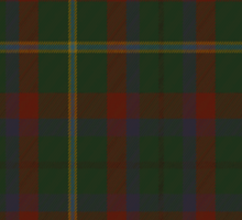 00341 Mayo County District Tartan Sticker