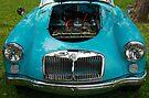 The art of the car: MGA 1600 Mk II (1958) by John Schneider