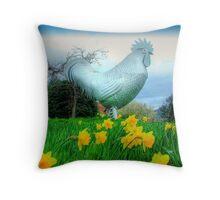 The Dorking Cockeral  Throw Pillow