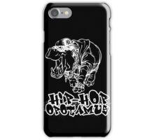 Hip Hop Opotamus (Inverted) iPhone Case/Skin