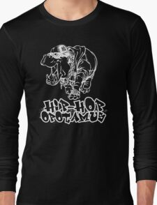 Hip Hop Opotamus (Inverted) Long Sleeve T-Shirt